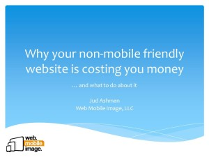 Why your non-mobile friendly website is costing you money
