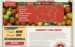 Manna Community Food Rescue page